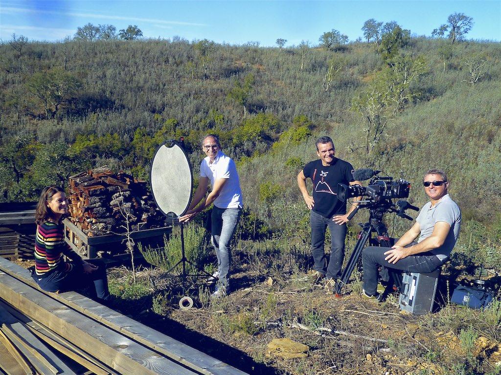 Dreharbeiten 37 Grad Dokumentation ZDF Fernsehteam