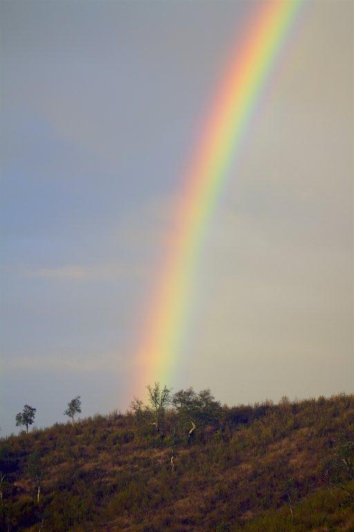 Regenbogen, Alentejo, Portugal